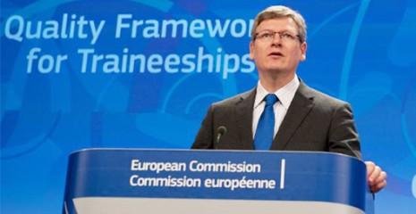 A Comissão Europeia abriu cerca de 1800 estágios com salário de 1220 euros