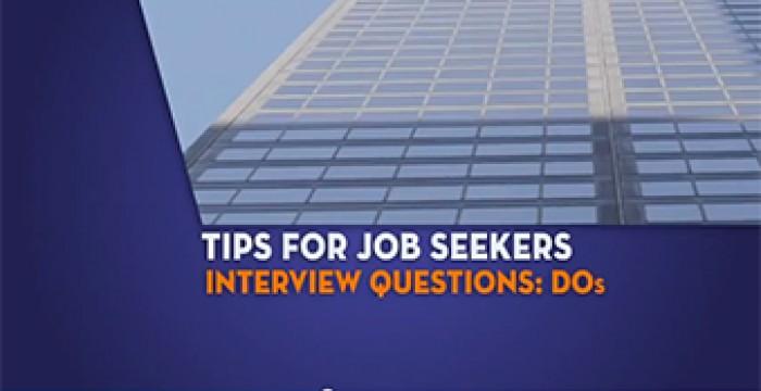O que deves fazer e não fazer numa entrevista