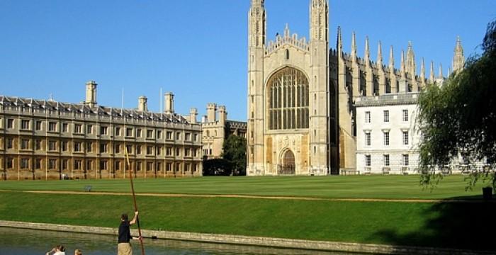 Cerca de 19500€ anuais: Bolsa de estudo para estudares em Cambridge