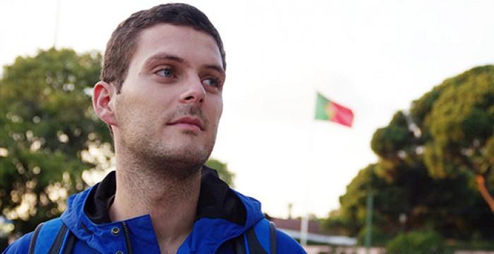 André Leonardo. Este jovem português vai dar volta ao mundo pelo Empreendedorismo.