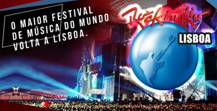 Queres trabalhar no Rock in Rio? Há 200 vagas para os 10 anos do festival