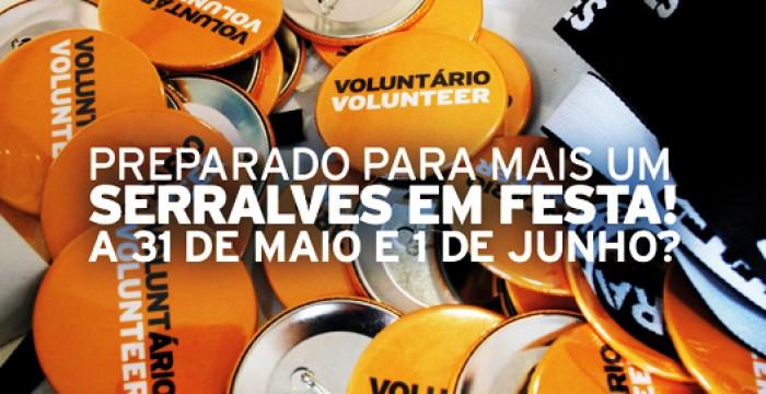 A 11ª Edição do Serralves em Festa está a recrutar voluntários!