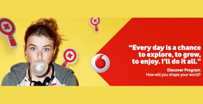 Discover Vodafone Graduates: programa da Vodafone procura 20 candidatos para os quadros da empresa