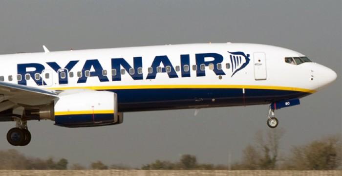 Mais uma promoção de inverno na Ryanair: 1 milhão de lugares a 15€