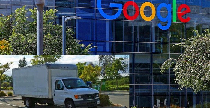 Trabalhador da Google escolheu viver num camião em frente à empresa