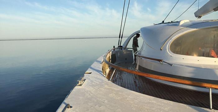 Concorre às bolsas para residências artísticas a bordo de um veleiro