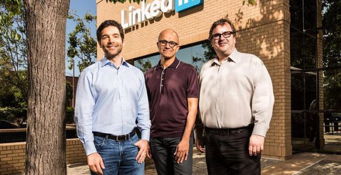 Microsoft compra Linkedin por 23,3 mil milhões de euros