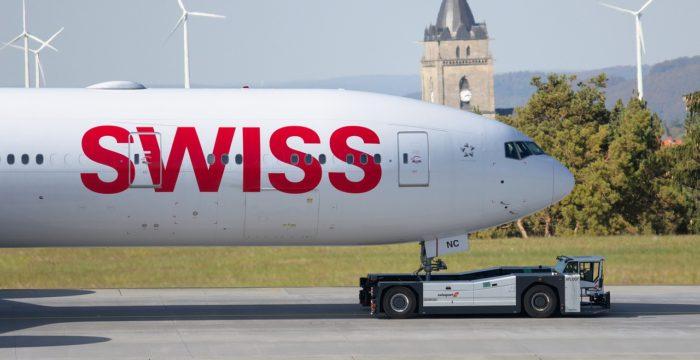 Swiss Airlines está a recrutar para 45 vagas de emprego