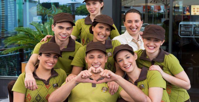 McDonald's com vagas em diversas regiões do país