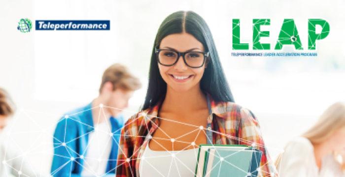 Teleperformance Portugal está a recrutar para o seu LeAP Management Trainee Program