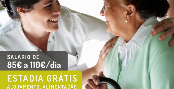 Eventos de recrutamento em Lisboa e Porto: emprego geriatria no Reino Unido em regime interno