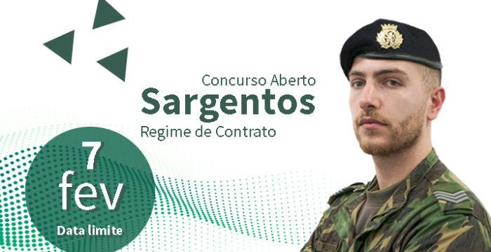 Recrutamento Exército Português: 200 vagas para Sargentos